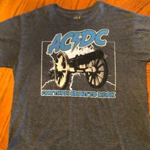 AC/DC For Those About to Rock Tee Shirt